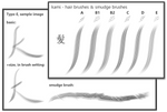 kami_#Hair and Smudge Brushes_for Krita