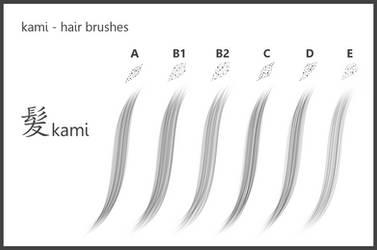 kami_#Hair Brushes_for SketchBook 8 by dev-moon
