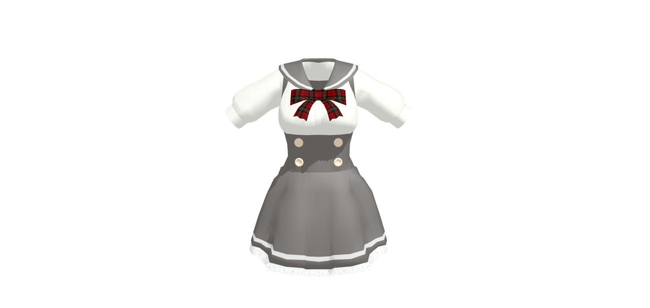 MMD School Dress download by TheGirlNamedSig