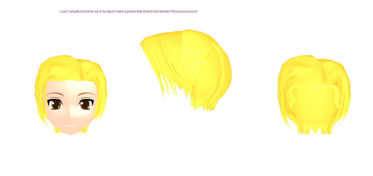 MMD Male-ish Hair Download by TheGirlNamedSig
