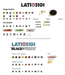 BW Pokemon card symbols and icons