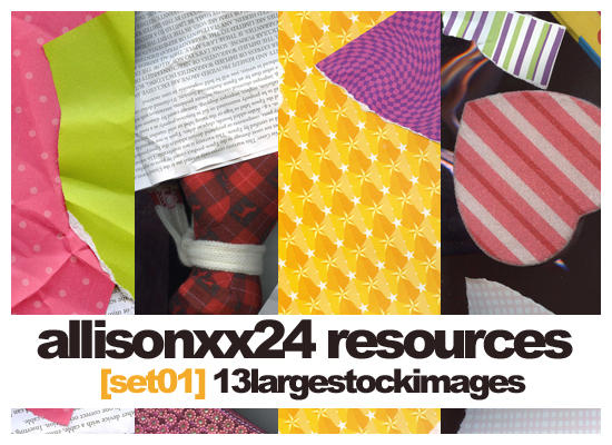Set 01- Stock Images by allisonxx24