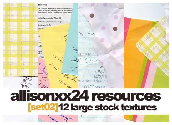 Set 02- Stock Images by allisonxx24