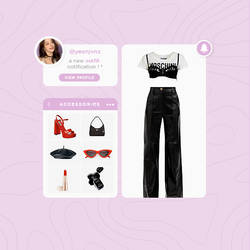 0X1= love song ! * an outfit template