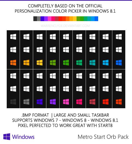 Windows 8 Metro Orbs
