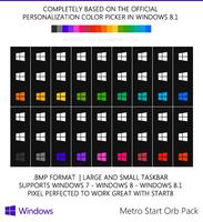 Windows 8 Metro Orbs by WarrenClyde