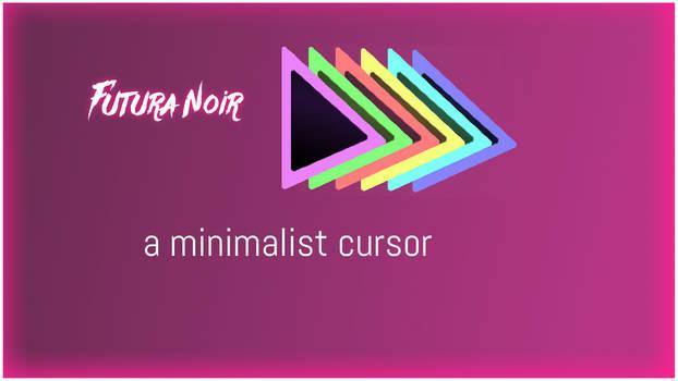 Futura Noir Windows Cursor