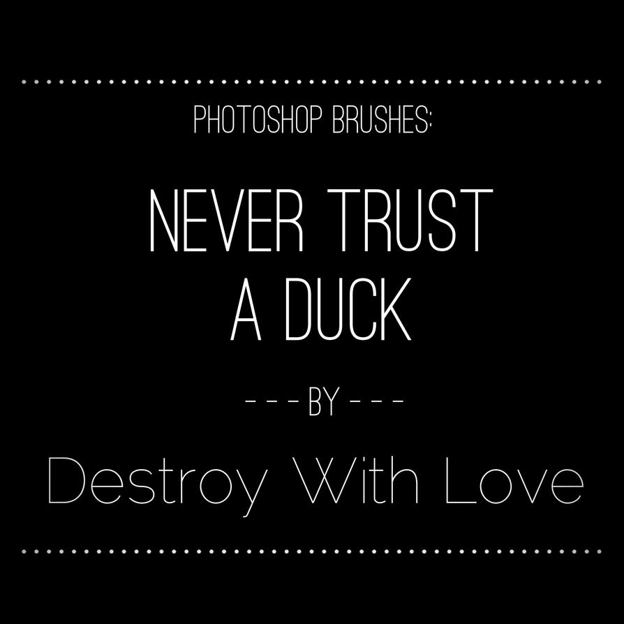 Mortal Instruments: Never Trust A Duck Brush by DestroyWithLove on ...