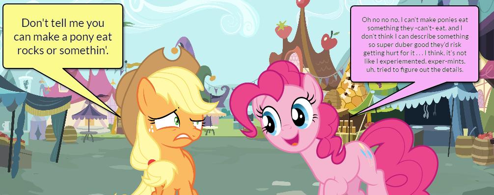 Pinkie Pie and AJ Short Gag Pg. 3 by yoshiegg64