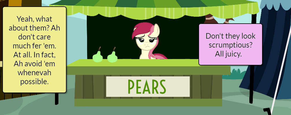 Pinkie Pie and AJ Short Gag Pg. 5 by yoshiegg64