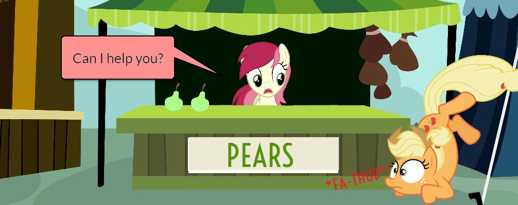 Pinkie Pie and AJ Short Gag Pg. 12 by yoshiegg64