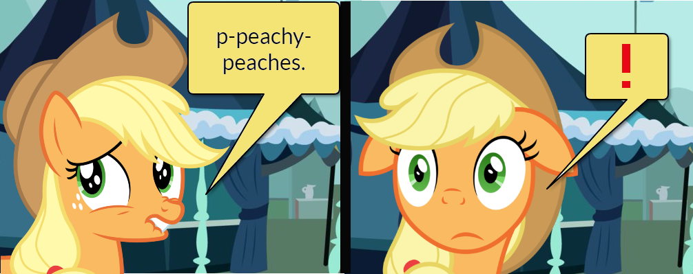 Pinkie Pie and AJ Short Gag Pg. 16 by yoshiegg64