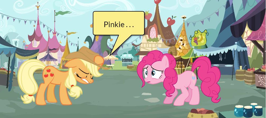 Pinkie Pie and AJ Short Gag Pg. 26 by yoshiegg64