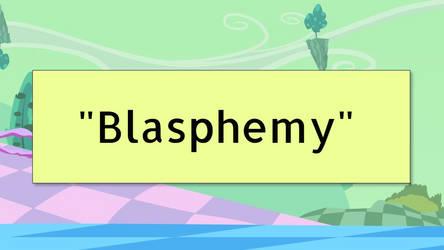 Blasphemy Title page