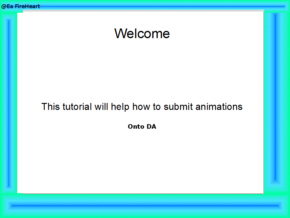how to submit animations to DA by SonofSpardaDante