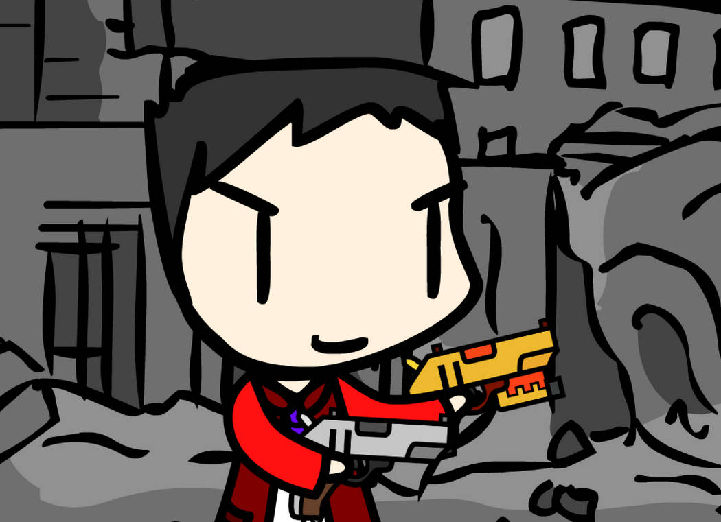 Walfas/Prop) Terraria - Handgun + Phoenix Blaster by