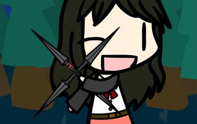 (Walfas/Prop) KH Yuffie's 4-Point Shuriken by PsyKoTMK
