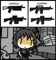 (Walfas/Prop) Horbizon + Scarbine