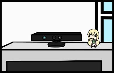 (Walfas/Prop) Kinect Xbox 360