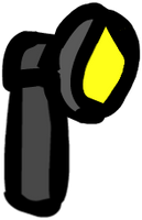 (Walfas/Prop) Angle-head Flashlight