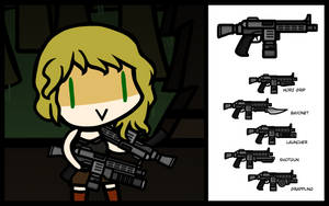 (Walfas/Prop) Cryzsteal SMG