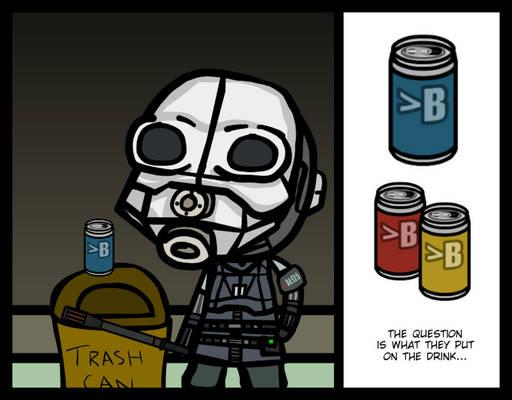 (Walfas/Prop) Dr. Breen's Soda (Vanilla)