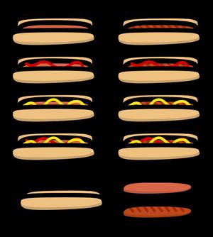 (Walfas/Prop) Edited Hotdog