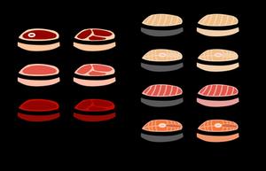 (Walfas/Prop) More Raw Meat Patties