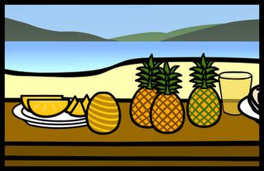 (Walfas/Prop) Pineapple