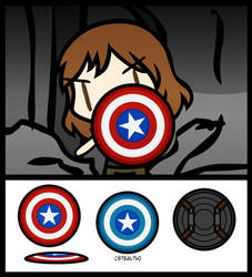 (Walfas/Prop) Captain America's Shield