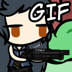 (Walfas/.gif) Reversed shot