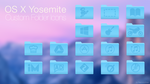 Yosemite custom icons from PMR