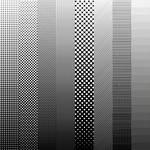Semi-authentic screen-tone gradient pack