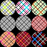 Nine (Tartan) Plaid Patterns