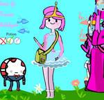 Princess Bubblegum Dress up