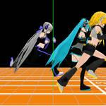 MMD: animation 01