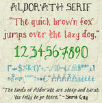 Aldor'ath Serif Font