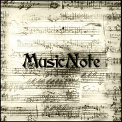 Music Note by ShadyMedusa-stock
