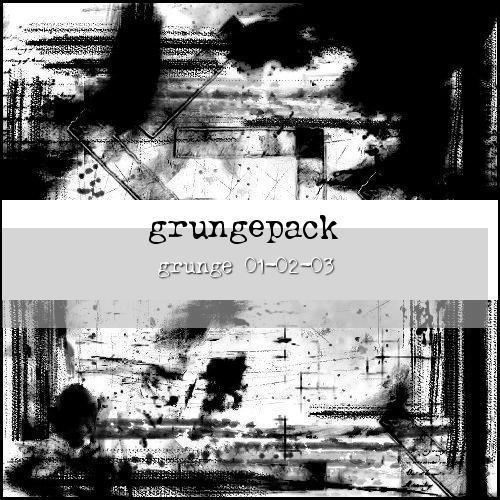 grungepack:01-02-03 by ShadyMedusa-stock
