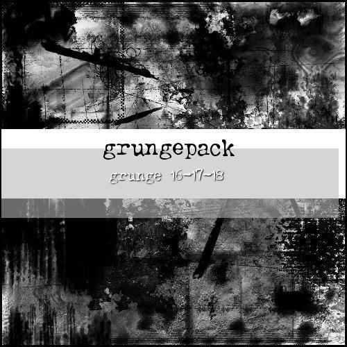 grungepack:16-17-18 by ShadyMedusa-stock