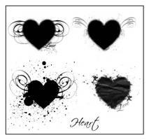 heart by ShadyMedusa-stock