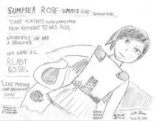 RWBY parody - LIKE MOTHER, LIKE DAUGHTER. [sketch] by StellarStylus