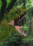 Indominus in the forrest