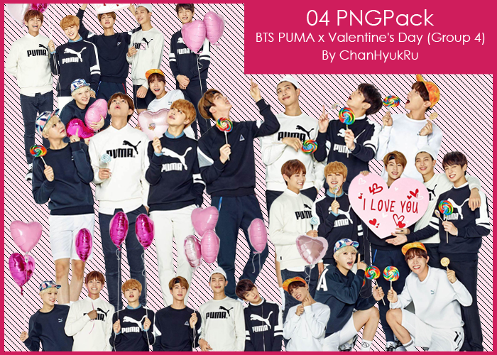04   BTS PUMA x Valentine s Day PNGPack by ChanHyukRu on DeviantArt d03b08ae3