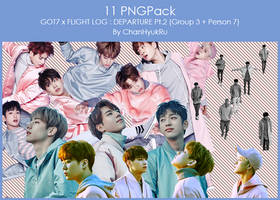 11 / GOT7 x FLIGHT LOG : DEPARTURE Pt.2 PNGPack