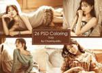 26 / PSD Coloring by ChanHyukRu