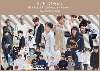 37 / BTS x PUMA Pt.2 PNGPack by ChanHyukRu