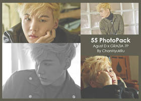 55 / Agust D x GRAZIA PhotoPack by ChanHyukRu