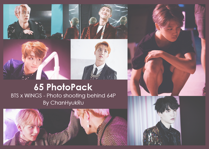 b90a638dbb25 65   BTS x WINGS - Photo shooting behind PhotoPack by ChanHyukRu on ...