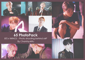 65 / BTS x WINGS - Photo shooting behind PhotoPack by ChanHyukRu